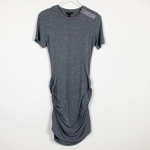 Banana Republic Exposed Zipper TShirt Dress sz XS